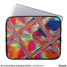Re-Created Glass Ceiling by Robert S. Lee Laptop Sleeves  #Robert #Lee #art #Neoprene #Laptop #Sleeve #graphic #design #colors #sleeve #electronics #tech #laptop #mac #apple #girls #boys #men #women #ladies #style #for #her #him #gift #want #need #love #customizable