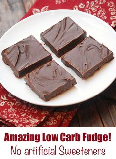 3 Ingredient Sugar-Free Peanut Butter Fudge   Recipe   Pinterest   Peanut butter fudge, Sugar ...