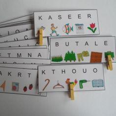 pro prvňáčky - Hledat Googlem Montessori, Struktura, Alphabet, Album, Autism, Alpha Bet