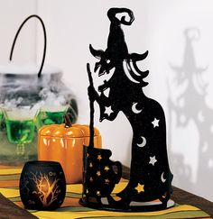 wilhelmina witch tealight holder from partylite 2009shes great