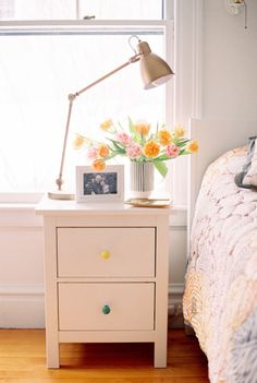 Add florals to your bedroom: http://www.stylemepretty.com/living/2015/04/16/spring-inspiration-for-your-home/ | Photography: Ruth Eileen - http://rutheileenphotography.com/