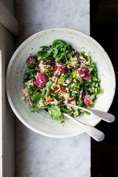 Insalata di cavolfiore arrosto, quinoa e uvetta - Naturalmente buono