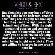 Virgos And Sex 101
