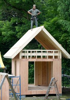 Do-It-Yourself Downsize: How To Build A Tiny House : NPR