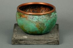 3. Copper Vessel with Patina   Flickr - Photo Sharing!