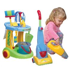 Little Helper Cleaning Set from CP Toys on shop.CatalogSpree.com, your personal digital mall.