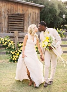 Simple Country Style Wedding Dresses With Boots Trends Ideas) Interracial Wedding, Interracial Couples, Wedding Beauty, Dream Wedding, Country Style Wedding Dresses, Country Dresses, Black And White Dating, Beaux Couples, Mixed Couples