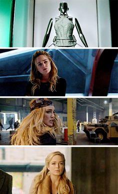 Meet Sara Lance aka White Canary. Rebel. Fighter. Assassin. Survivor. Hero. Legend. #LegendsofTomorrow