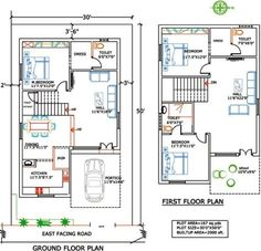 1000 Sq Ft Duplex Indian House Plans