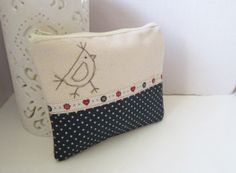 Cosmetic make up bag by Mayflair on Etsy, £6.00