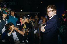 Yves Saint Laurent at Fashion Exhibit