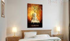 Poster motivazionali - perfetti per il tuo ufficio, studio o camera. Scopri le novità di bimago: stampe su tela con citazioni motivanti #poster #stampa #su #tela #home #decor #decorazioni