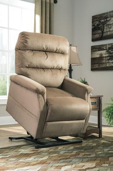 Brenyth - Mocha - Power Lift Recliner