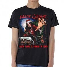 Tricou Alice Cooper: Santa Claws