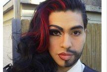 gender reversal makeup - Google Search