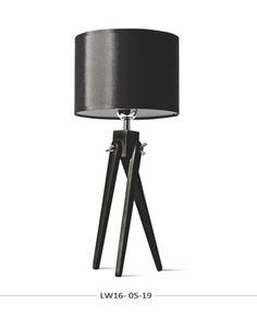 Lampa nocna sztalugowa trójnóg LW16-05-19 mybaze 140 zł