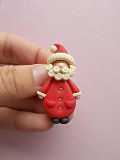 Christmas jewelry created from polymer clay without using molds. The size of the pin is 4.6 cm. ❀ Because i make everything by hand, the item you receive may differ slightly than shown on the pictures. ❀ I ship the orders very quickly, in 1 to 3 days after I receive your order. I ship them