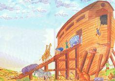 L'Arche de Noé et le déluge
