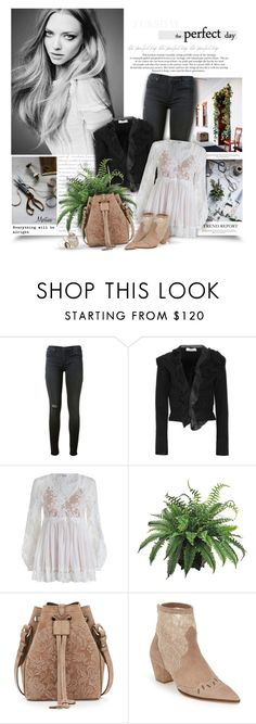 """""""The Perfect Day"""" by thewondersoffashion ❤ liked on Polyvore featuring Hudson, Valentino, Zimmermann, INC International Concepts, Ralph Lauren, Topshop and Melissa Joy Manning"""
