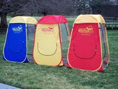 Under the weather pop up tent.  So getting some of these for this season.