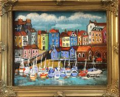 Buy A Smartie Box Harbour Town, Acrylic painting by Suzette Datema on Artfinder. Discover thousands of other original paintings, prints, sculptures and photography from independent artists.