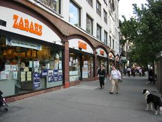Zabar's is a specialty food store at 2245 Broadway and 80th Street, on the Upper West Side... A local favorite...Quintessential NYC jewish grocery store, deli, and bakery.  Featured in numerous movies, including You've Got Mail.