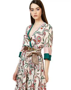 Rochie midi imprimata - ECHO de RAVEL Fashion, Dress, Moda, Fashion Styles, Fashion Illustrations