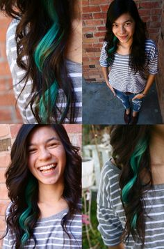 We love colored highlights!