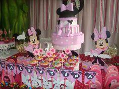 Cupacakes personalizados Minnie Rosa