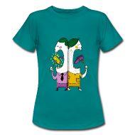 24,50 € . Camisetas ~ Mujeres camiseta clásica ~ El Banquete . Humor . Hambre Rico . Hambre Pobre