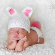 The Easter bunny is bringing me one of these in my basket this year!! Need to take a pic like this :-) Perfect for birth announcements!
