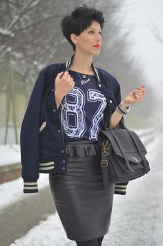 Varsity Blues Types Of Jackets, Vests, Blues, Punk, Coat, Long Sleeve, Sleeves, Style, Fashion