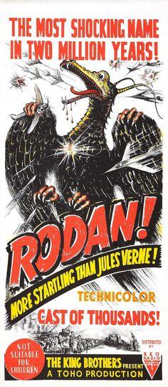 "cinemageddon // torrent details for ""rodan aka sora no daikaijû radon [japan] [1956/bdrip/720p/x264]"""