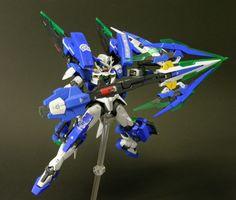 Custom Build: HG 1/144 GNT-0000 QUANTA [T] R-0 Retrospective-0 REVIVE - Gundam Kits Collection News and Reviews