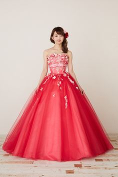 Gala Dresses, Quinceanera Dresses, Formal Dresses, Beautiful Party Dresses, Pretty Dresses, Pink Colour Dress, Fashion Show Dresses, Colored Wedding Dress, Red Ball Gowns
