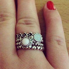 #pandora #rings #christmas