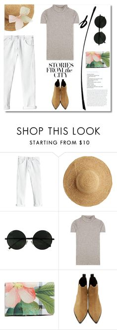 """Spring in the City"" by pattykake ❤ liked on Polyvore featuring Rebecca Taylor, Flora Bella, rag & bone, Ted Baker and Acne Studios"