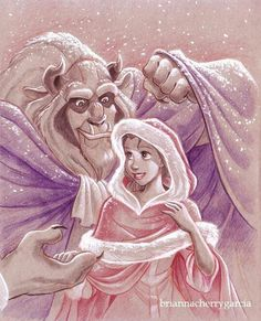 Beauty and the Beast by Brianna Garcia. Gorgeous.
