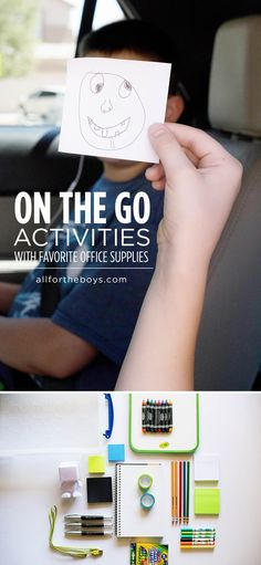 On the go activities using favorite office supplies from Office Depot! ad #GearLove #GearUpForGreat