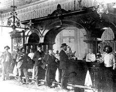 Old West - Crystal Palace Saloon Frederic Remington, Crystal Palace, Us History, American History, Texas History, Wyoming, Westerns, Old West Saloon, Tombstone Arizona