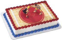 Wwe Wrestling Birthday Cake And Cupcake Decorating Ideas picture 21921