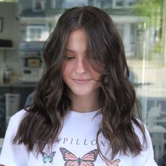 Hairstyles For Layered Hair, Haircuts For Long Hair, Long Hair Cuts, Black Hairstyles, Hair Cuts For Summer, Choppy Long Layered Haircuts, Haircut For Long Face, Choppy Layers For Long Hair, Brown Layered Hair