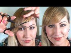 ¿Cómo cortar el FLECO de lado facil? Cut Your Own Bangs