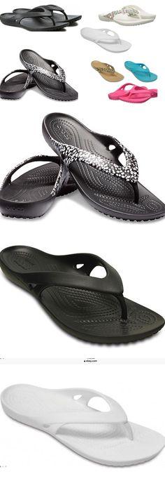 ef808da5081 Sandals 62107  Women S Crocs Kadee Ll Flip Sandals Black