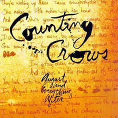 Counting Crows - August And Everything After on 200g 45RPM 2LP