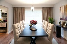 Andrea & Santino's DINING ROOM REVEAL | Buying & Selling