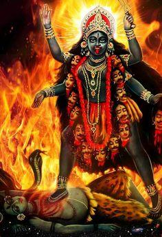 MAA KALI MAA Kali Hindu, Durga Maa, Shiva Shakti, Hindu Art, Indian Goddess Kali, Durga Goddess, Indian Gods, Maa Kali Images, Durga Images