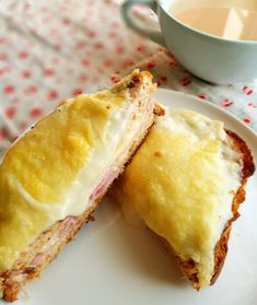Croque Monsieur #sandwich #croquemonsieur #foodblog #recipes #cooking #brunch #lunch