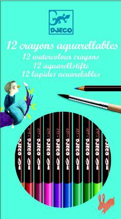 Watercolour Pencils - Set of 12