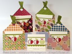 3x3 card and envelope holders